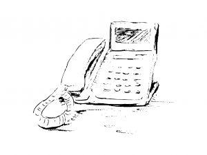 英語での留守番電話